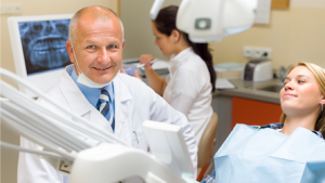 Dentist-Downers-Grove-At-Work