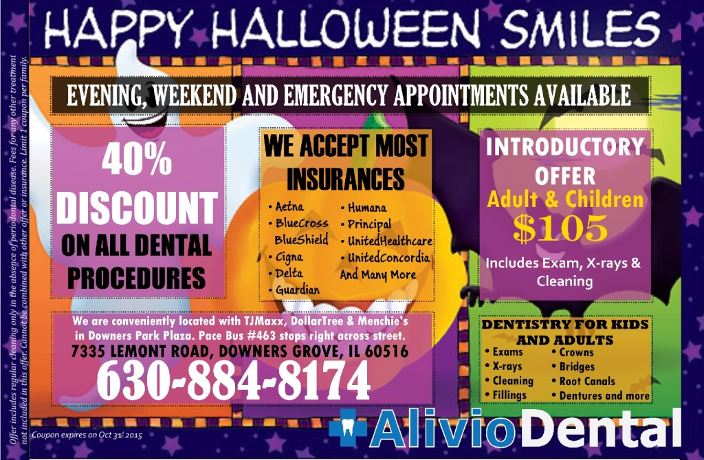 Downers Grove Dental Exam Cleaning offer $105